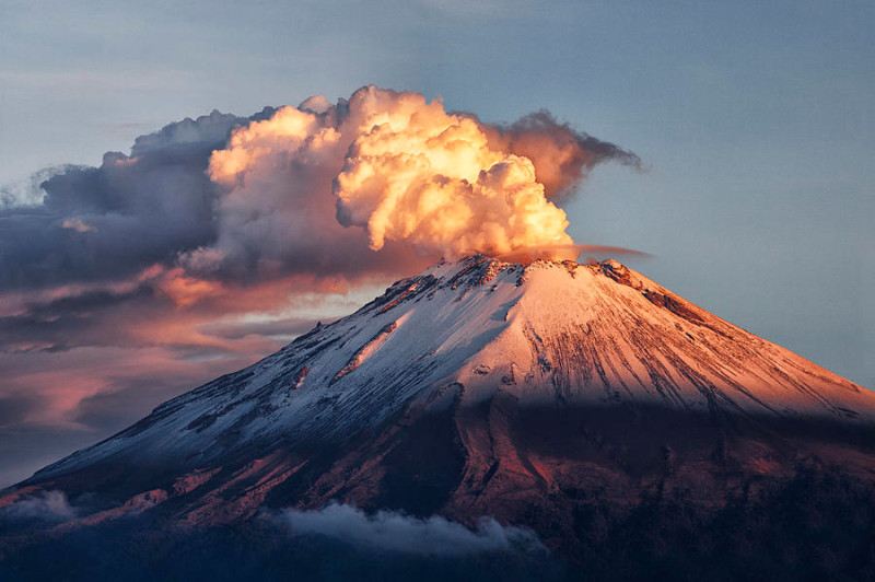 вулканы фото