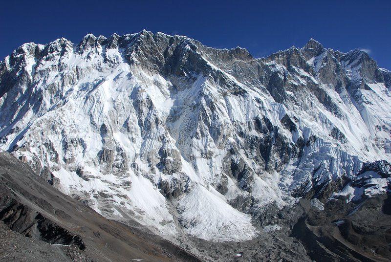 гора Нупцзе высота
