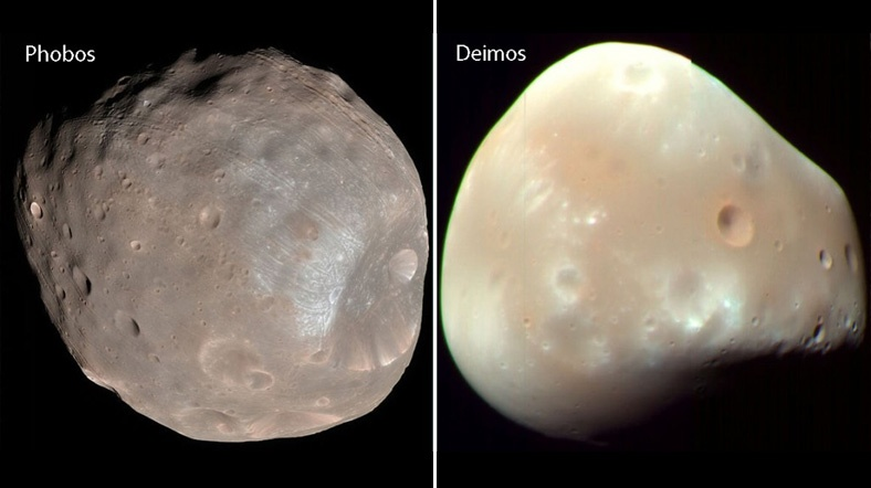 спутники планеты Марс