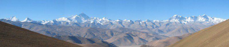 Самый высокий горный хребет