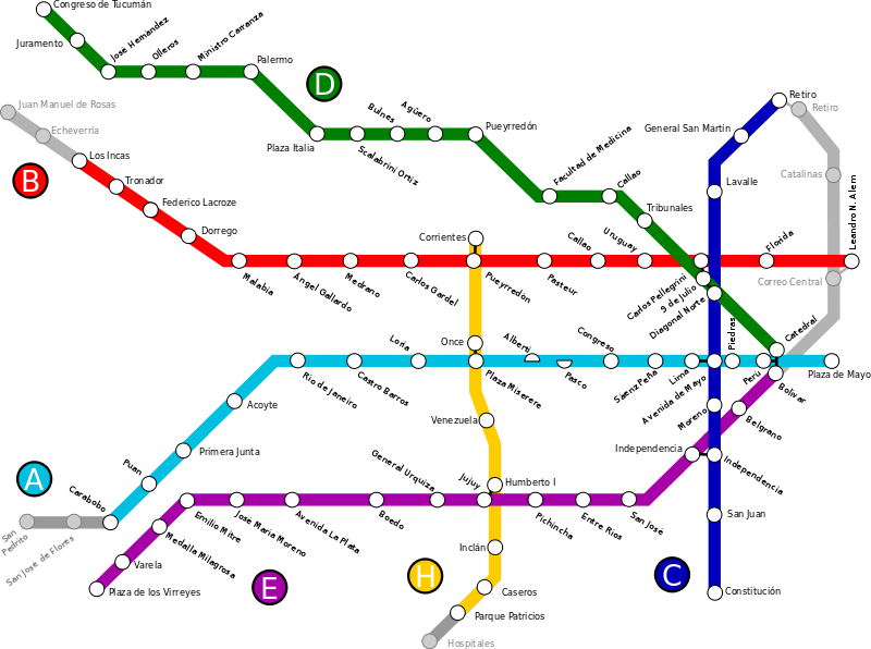 метрополитен Буэнос-Айреса