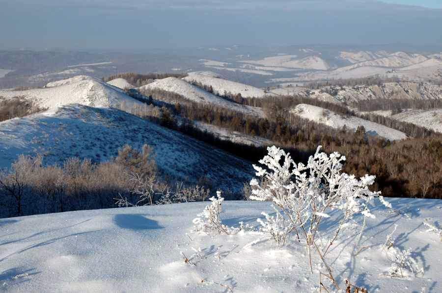 Мурадымовское ущелье зимой