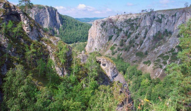 Мурадымовское ущелье где находится