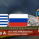 Россия — Уругвай 25 июня 2018 в Самаре: узнай счет