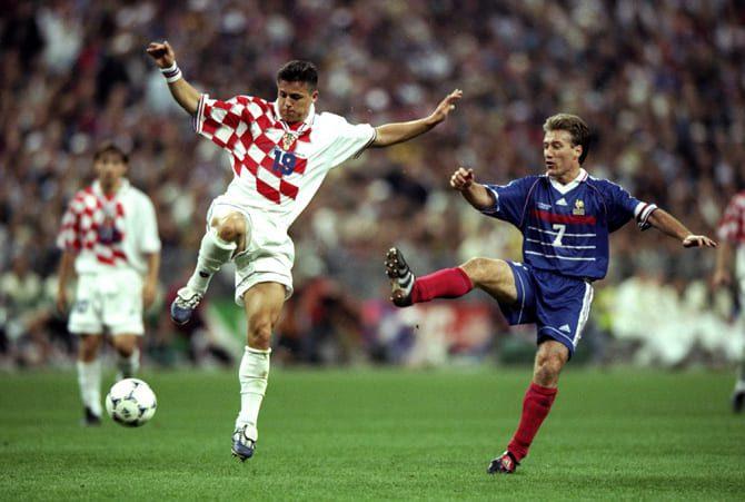 футбол Франция - Хорватия ЧМ 2018