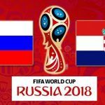 Счет матча Россия — Хорватия 7 июля 2018 21:00 (Сочи)