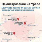Землетрясение на Урале 5 сентября 2018