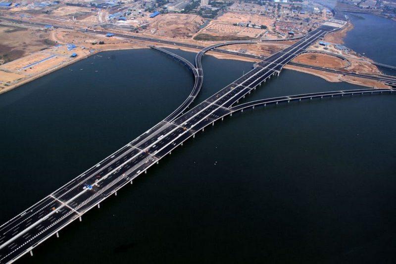 самый длинный в мире морской мост в Китае