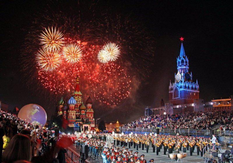День России в Москве 2019 салют концерт