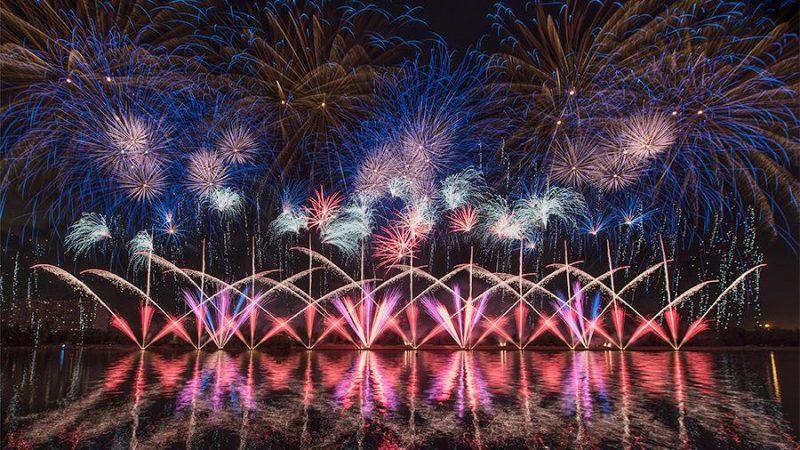 Фестиваль фейерверков 2019 в Москве когда будет