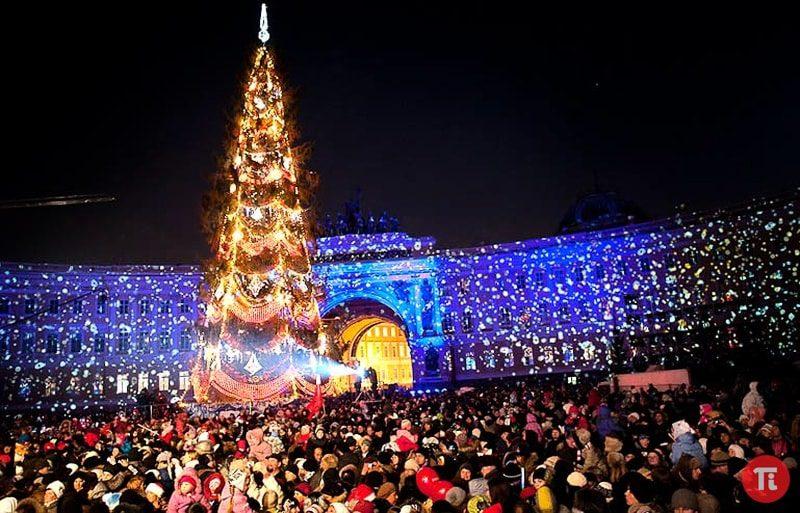 новый год в СПб 2020 фото