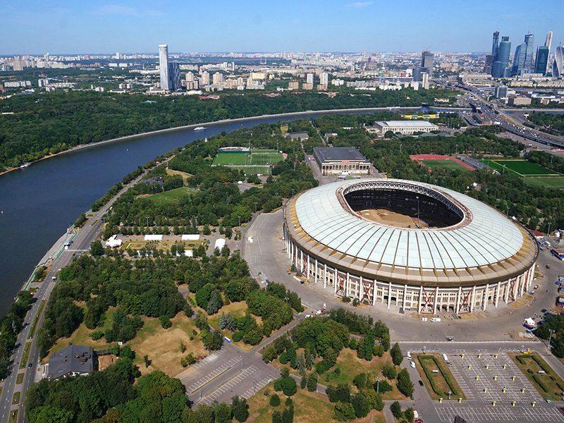 Фан зона Евро 2020 в Москве