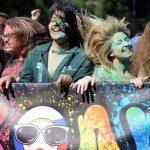 Фестиваль красок Холи в Москве 2020
