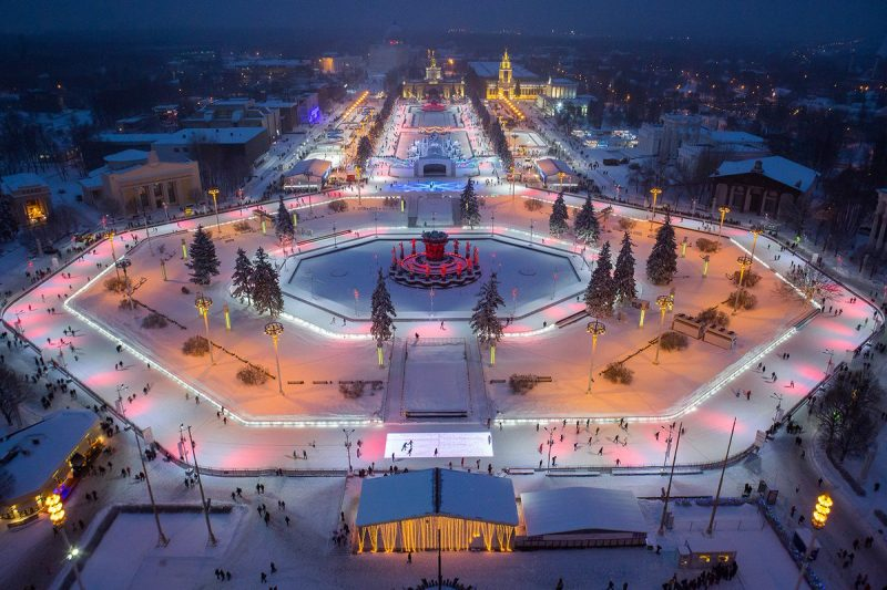 катки в Москве 2019 цены и время работы