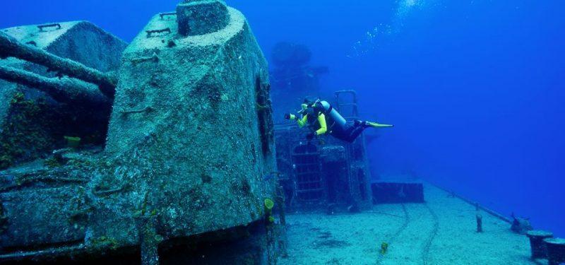 погружение с аквалангом в Крыму фото
