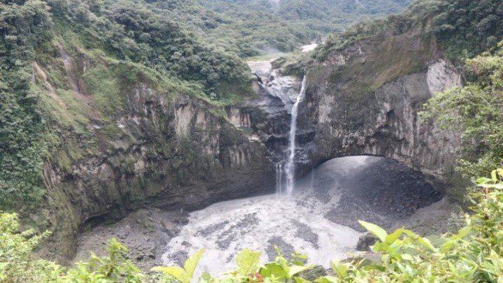водопад Сан-Рафаэль эквадор фото 2020