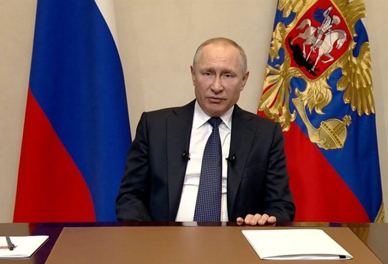 Карантин продлили до 30 апреля 2020 выступление путина
