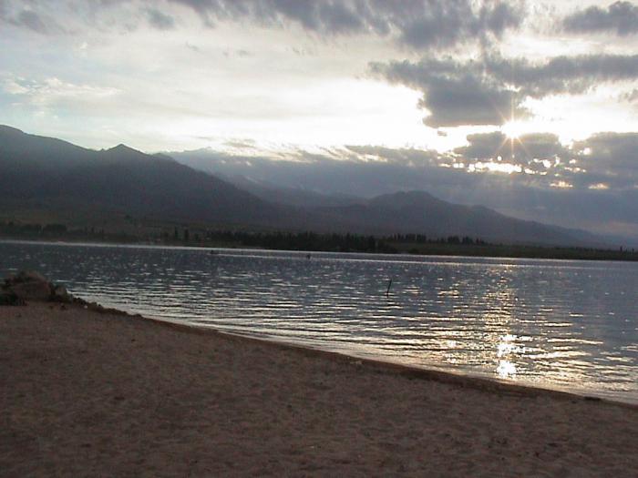 Озеро Иссык-Куль Киргизия фото