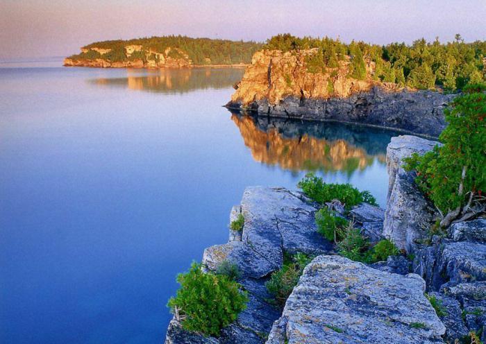 Озеро Онтарио где находится