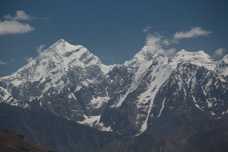 горы Гиндукуш высота