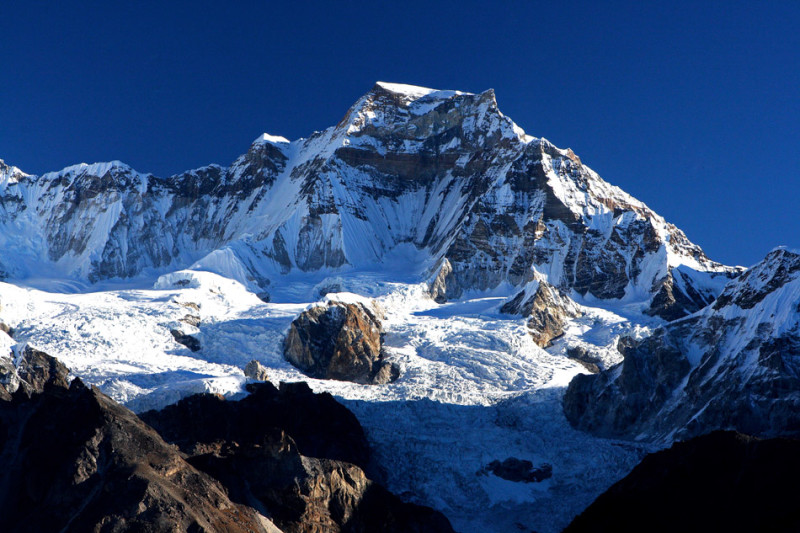 гора Гьячунг-Канг