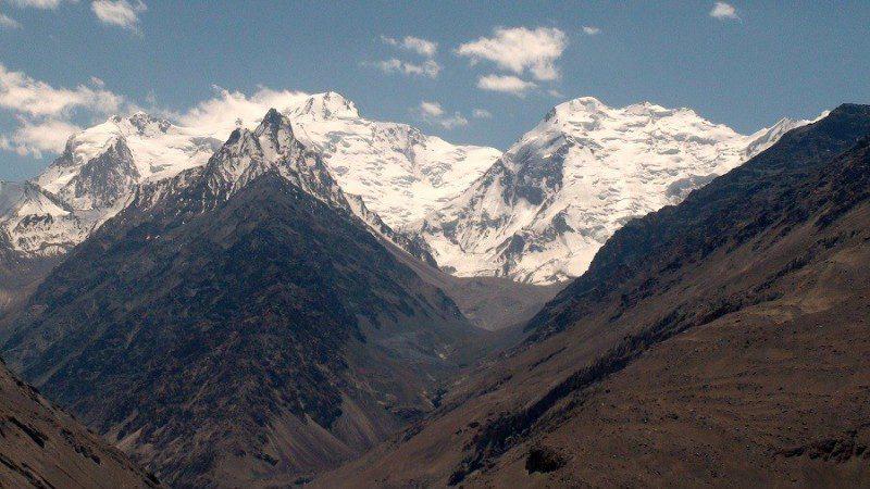 плато Гиндукуш на карте мира