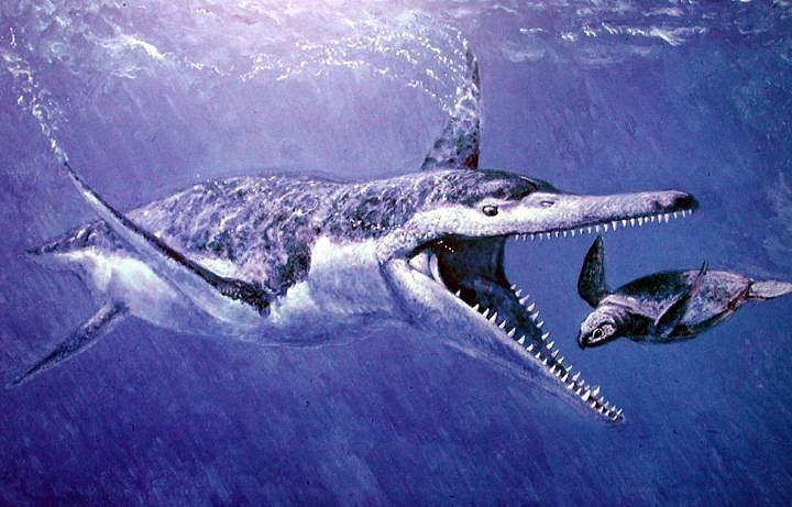 динозавр плиозавр