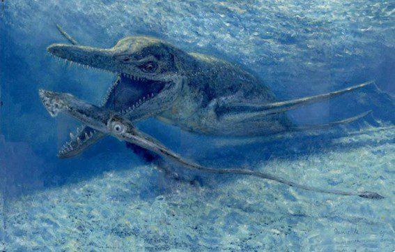 плиозавр где жил