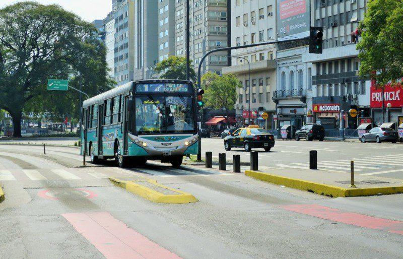 городские автобусы Буэнос-Айреса