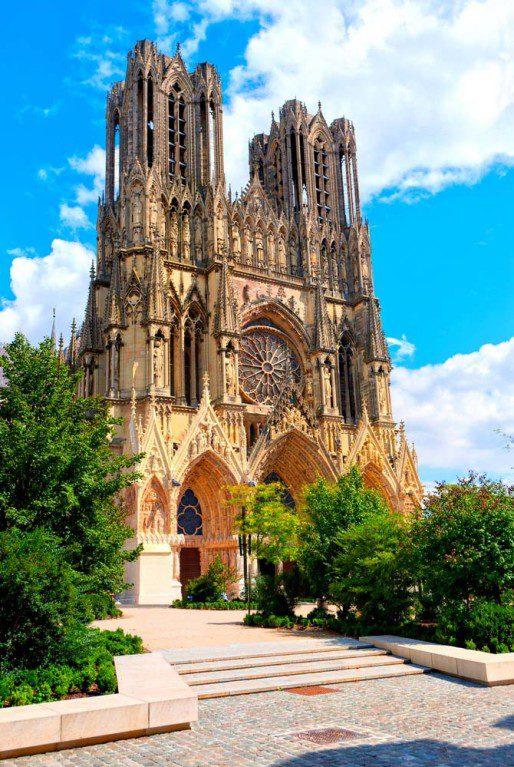 Реймсский собор Реймс Франция