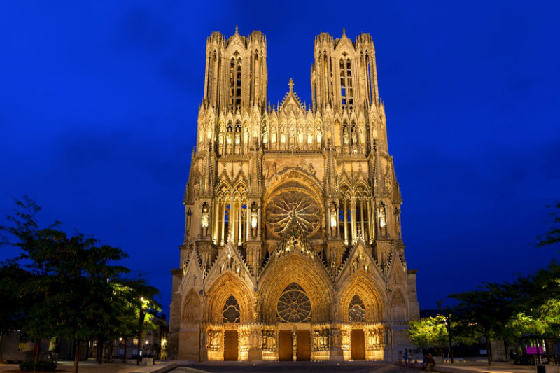 Реймсский собор во Франции