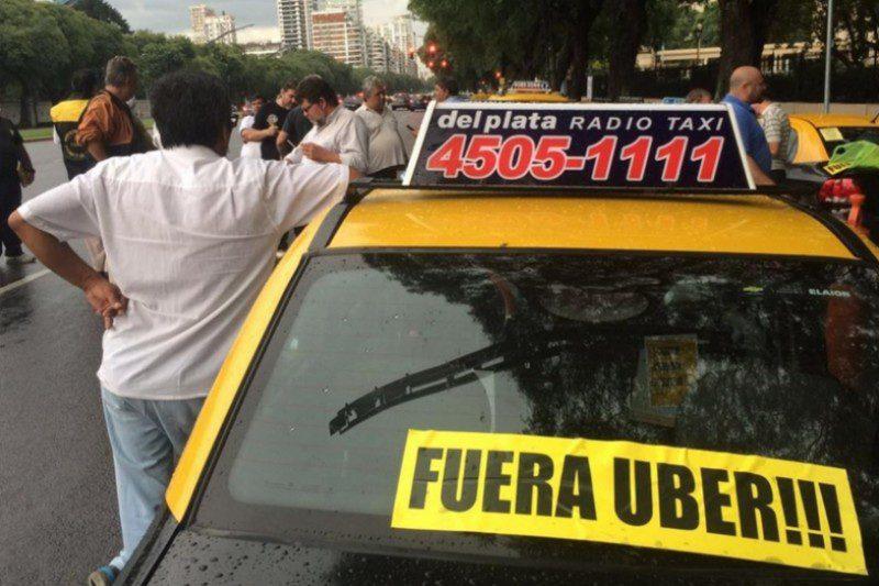 такси Буэнос-Айреса