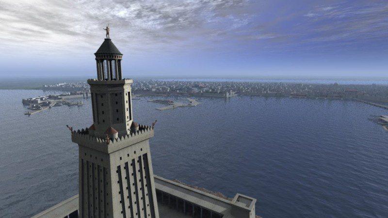 Александрийский маяк доклад