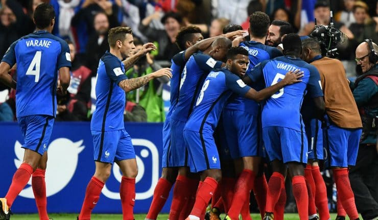 Франция - Бельгия