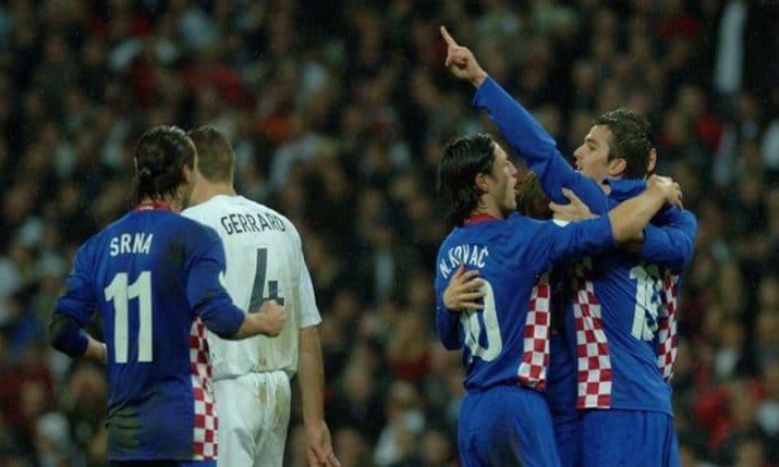 Хорватия - Англия 11 июля 2018