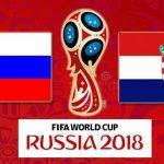 Счет матча Россия - Хорватия 7 июля 2018 21:00 (Сочи)