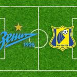 Зенит - Ростов 25 ноября - трансляция онлайн