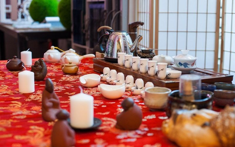 история чая в Китае