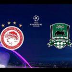 Олимпиакос - Краснодар прямая трансляция 21 августа