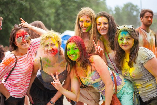 Фестиваль красок Холи в Москве 2020 расписание