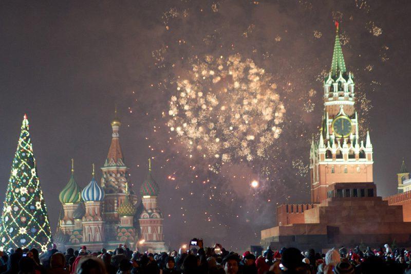 Новогодняя программа в Москве 2020 на красной площади