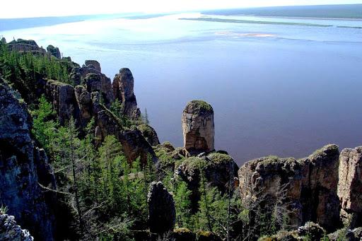 Река Енисей в России