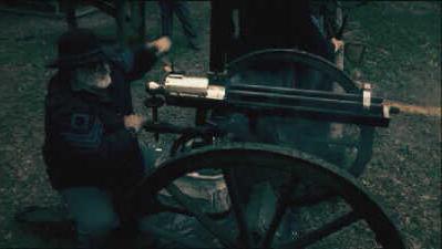 Пулемет Гатлинга фото