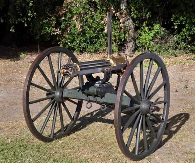 Пулемет Гатлинга вес скорострельность фото