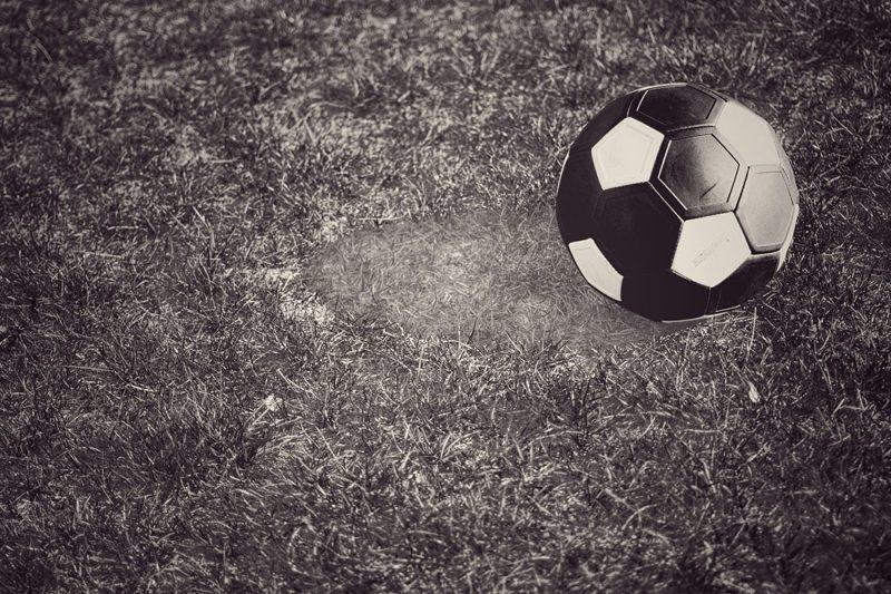 как выглядит старый футбольный мяч